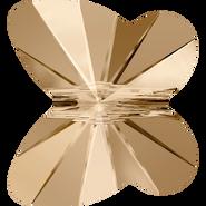 Swarovski Bead 5754 - 12mm, Crystal Golden Shadow (001 GSHA), 144pcs