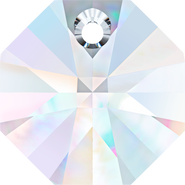 Swarovski Pendant 6401 - 12mm, Crystal Aurore Boreale (001 AB), 144pcs