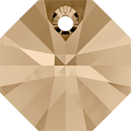 Swarovski Pendant 6401 - 8mm, Crystal Golden Shadow (001 GSHA), 288pcs