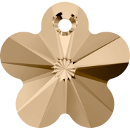 Swarovski Pendant 6744 - 12mm, Crystal Golden Shadow (001 GSHA), 144pcs
