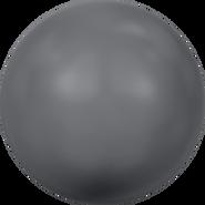 Swarovski Crystal Pearl 5810 - 10mm, Crystal Dark Grey Pearl (001 617), 100pcs