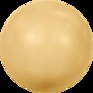 Swarovski Crystal Pearl 5810 - 10mm, Crystal Gold Pearl (001 296), 100pcs