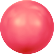 Swarovski Crystal Pearl 5810 - 5mm, Crystal Neon Red Pearl (001 770), 500pcs