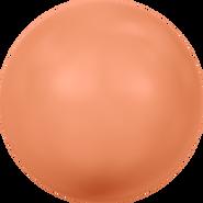 Swarovski Crystal Pearl 5810 - 8mm, Crystal Coral Pearl (001 816), 250pcs