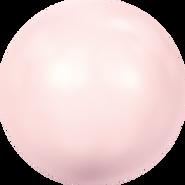 Swarovski Crystal Pearl 5817 - 8mm, Crystal Rosaline Pearl (001 294), 250pcs