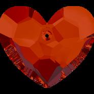 Swarovski Pendant 6264 - 18mm, Crystal Red Magma (001 REDM), 48pcs