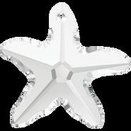 Swarovski Pendant 6721 - 20mm, Crystal (001), 30pcs
