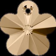 Swarovski Pendant 6744 - 18mm, Crystal Golden Shadow (001 GSHA), 72pcs