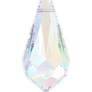 Swarovski Pendant 6000 - 13x6.5mm, Crystal Aurore Boreale (001 AB), 288pcs