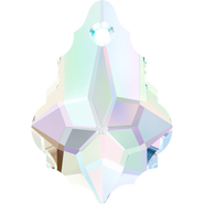 Swarovski Pendant 6090 - 16x11mm, Crystal Aurore Boreale (001 AB), 72pcs