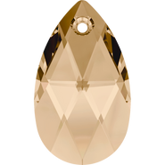 Swarovski Pendant 6106 - 28mm, Crystal Golden Shadow (001 GSHA), 36pcs