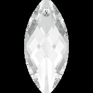 Swarovski Pendant 6110 - 30x14mm, Crystal (001), 36pcs