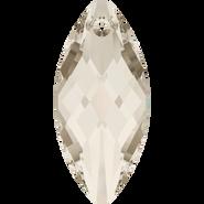 Swarovski Pendant 6110 - 30x14mm, Crystal Silver Shade (001 SSHA), 36pcs