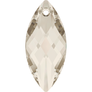 Swarovski Pendant 6110 - 40x18mm, Crystal Silver Shade (001 SSHA), 12pcs