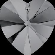 Swarovski Pendant 6228 - 28mm, Crystal Silver Night (001 SINI), 16pcs