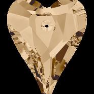 Swarovski Pendant 6240 - 27mm, Crystal Golden Shadow (001 GSHA), 24pcs