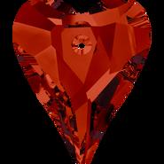 Swarovski Pendant 6240 - 27mm, Crystal Red Magma (001 REDM), 24pcs