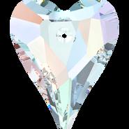 Swarovski Pendant 6240 - 37mm, Crystal Aurore Boreale (001 AB), 6pcs