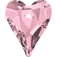 Swarovski Pendant 6240 - 27mm, Crystal Antique Pink (001 ANTP), 24pcs