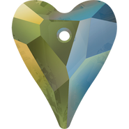 Swarovski Pendant 6240 - 27mm, Crystal Iridescent Green (001 IRIG), 24pcs