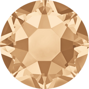 Swarovski Hotfix 2078 - ss34, Crystal Golden Shadow (001 GSHA Advanced), Hotfix, 144pcs