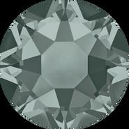 Swarovski Hotfix 2078 - ss34, Black Diamond (215 Advanced), Hotfix, 144pcs