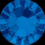 Swarovski Flatback 2058 - ss5, Capri Blue (243) Foiled, No Hotfix, 1440pcs