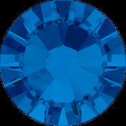 Swarovski Flatback 2058 - ss10, Capri Blue (243) Foiled, No Hotfix, 1440pcs