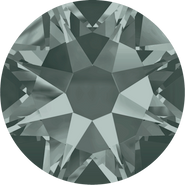 Swarovski Flatback 2088 - ss12, Black Diamond (215) Foiled, No Hotfix, 1440pcs