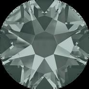 Swarovski Flatback 2088 - ss34, Black Diamond (215) Foiled, No Hotfix, 144pcs