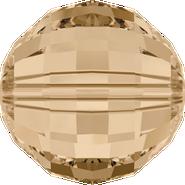 Swarovski Bead 5005 - 16mm, Crystal Golden Shadow (001 GSHA), 24pcs