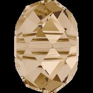 Swarovski Bead 5041 - 18mm, Crystal Golden Shadow (001 GSHA), 24pcs