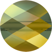 Swarovski Bead 5052 - 6mm, Crystal Iridescent Green (001 IRIG), 288pcs