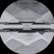 Swarovski Bead 5052 - 6mm, Crystal Silver Night (001 SINI), 288pcs