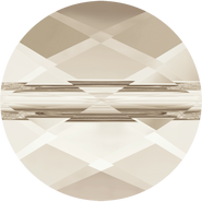 Swarovski Bead 5052 - 6mm, Crystal Silver Shade (001 SSHA), 288pcs
