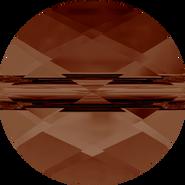 Swarovski Bead 5052 - 6mm, Smoked Topaz (220), 288pcs