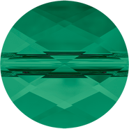Swarovski Bead 5052 - 8mm, Emerald (205), 144pcs
