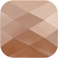 Swarovski Bead 5053 - 8mm, Crystal Rose Gold 2x (001 ROGL2), 144pcs