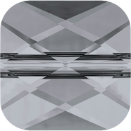 Swarovski Bead 5053 - 8mm, Crystal Silver Night (001 SINI), 144pcs