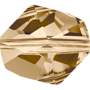 Swarovski Bead 5523 - 16mm, Crystal Golden Shadow (001 GSHA), 72pcs