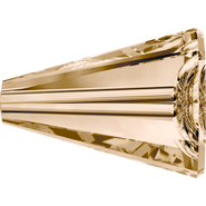 Swarovski Bead 5540 - 12mm, Crystal Golden Shadow (001 GSHA), 72pcs