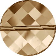 Swarovski Bead 5621 - 14mm, Crystal Golden Shadow (001 GSHA), 96pcs