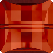 Swarovski Bead 5624 - 10mm, Crystal Red Magma (001 REDM), 108pcs