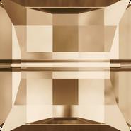 Swarovski Bead 5624 - 14mm, Crystal Golden Shadow (001 GSHA), 72pcs