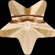 Swarovski Bead 5714 - 8mm, Crystal Golden Shadow (001 GSHA), 288pcs