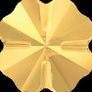 Swarovski Bead 5752 - 12mm, Crystal Metallic Sunshine (001 METSH), 96pcs