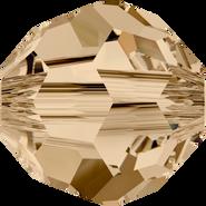 Swarovski 5900 Large Hole - 14mm, Crystal Golden Shadow (001 GSHA), 48pcs