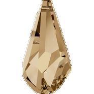 Swarovski Pendant 6015 - 17mm, Crystal Golden Shadow (001 GSHA), 72pcs