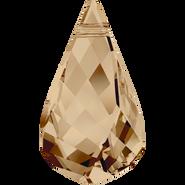 Swarovski Pendant 6020 - 18mm, Crystal Golden Shadow (001 GSHA), 36pcs