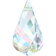 Swarovski Pendant 6020 - 37mm, Crystal Aurore Boreale (001 AB), 6pcs